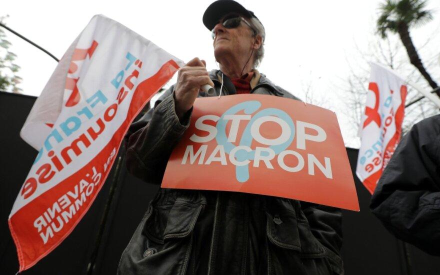 Францию вновь охватили забастовки против пенсионной реформы