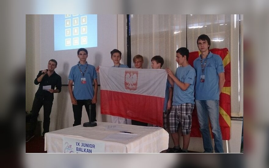 Kolejny sukces polskiej młodzieży. Foto: MEN RP