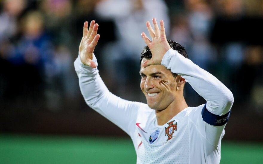 Роналду после 4 голов в ворота сборной Литвы: не могу лукавить, такой результат мне приятен