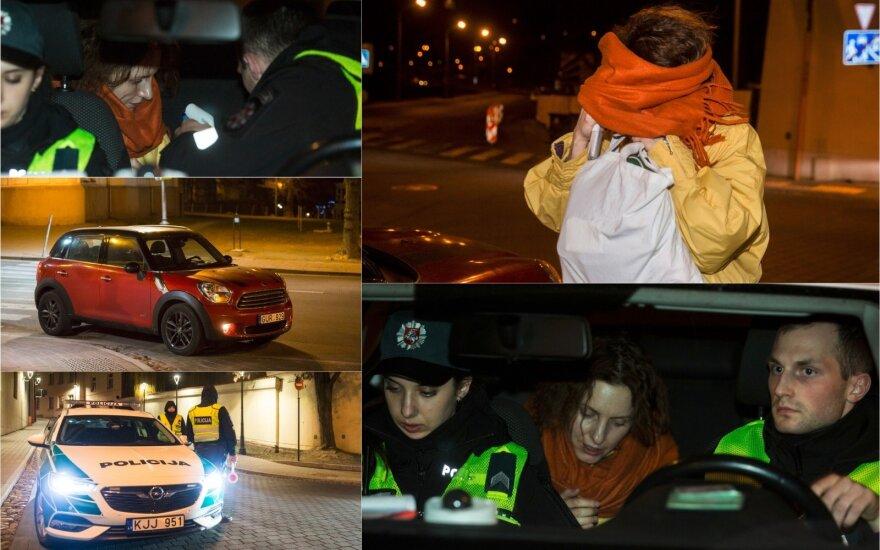 Ночной рейд в Вильнюсе: попалась женщина подшофе