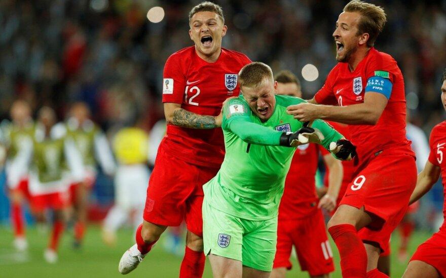 Англия в 1/8 финала ЧМ превзошла Колумбию в серии пенальти и сняла проклятие