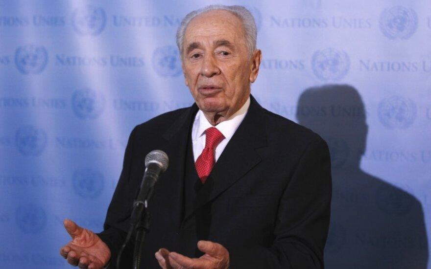 Izrael: Prezydent opowiedział się za budową państwa żydowskiego oraz arabskiego