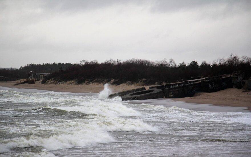 В Литву идет неприятная погода: сильный ветер и дождь