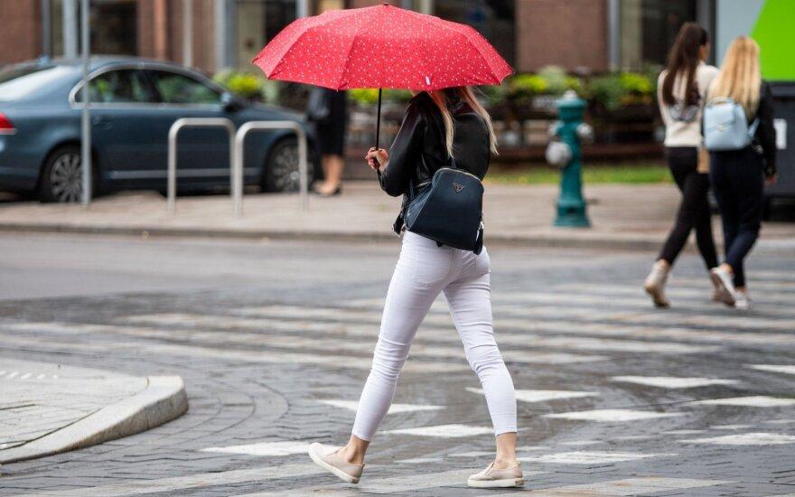Погода на неделю: в Литву все чаще будут заглядывать дожди