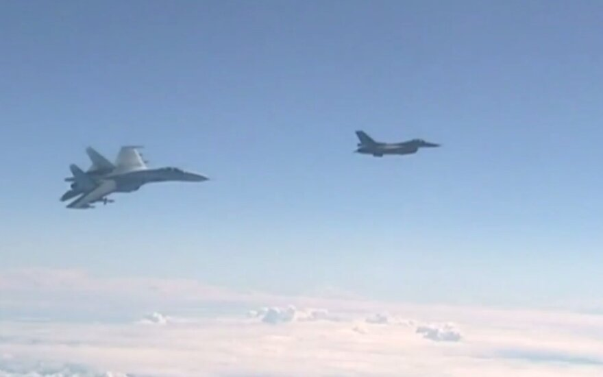 За неделю над Балтийским морем сопроводили 5 российских самолетов