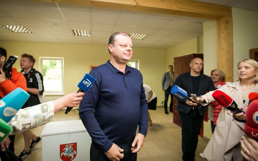 """Премьер ждет от нового президента """"процветающей Литвы"""", свои планы не комментирует"""