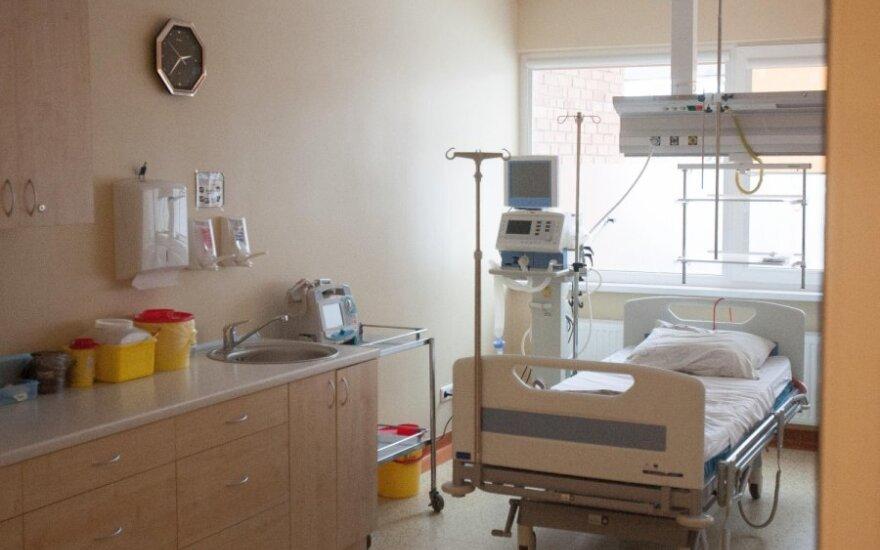 В Алитусской поликлинике внезапно умер мужчина