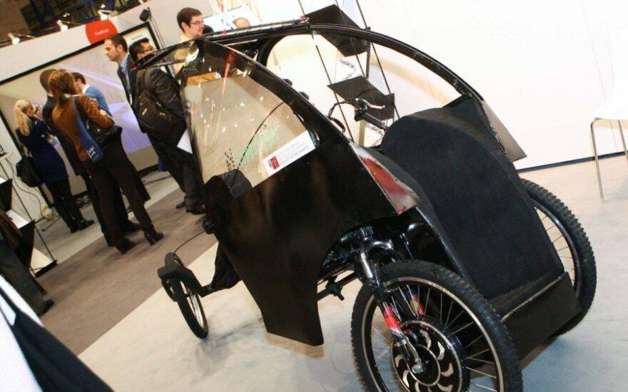 Vienviečio elektromobilio prototipas