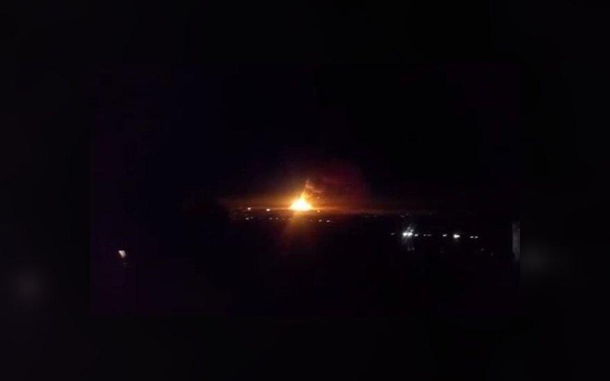 Пожар на складе боеприпасов под Луганском: есть жертвы