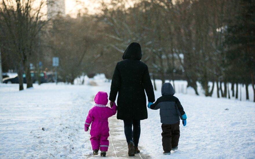 В Литву идет леденящий холод