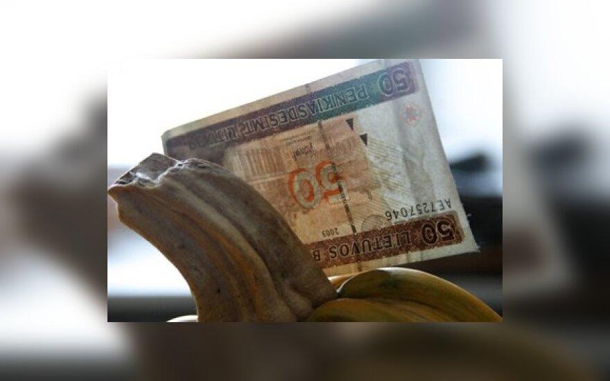 В Литве уничтожено 27 тонн денег
