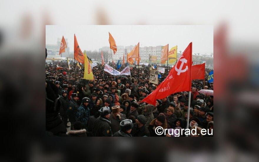 Кремль пожертвовал чиновника из-за митинга в Калининграде