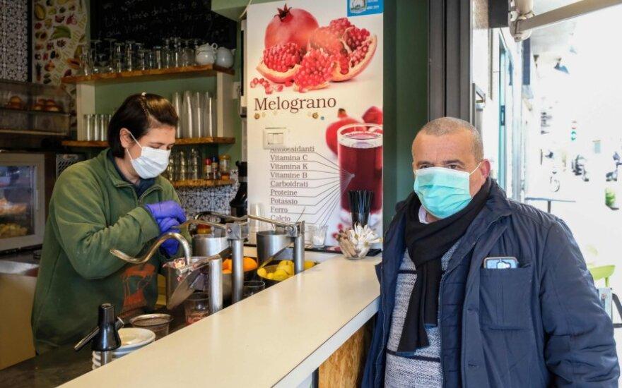 Koronavirusas plinta Italijoje
