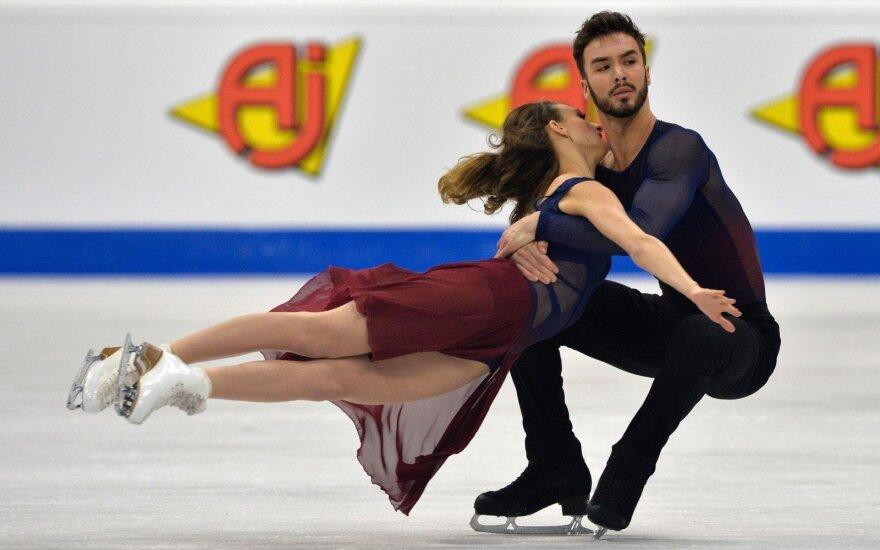 Gabriella Papadakis ir Guillaume'as Cizeronas