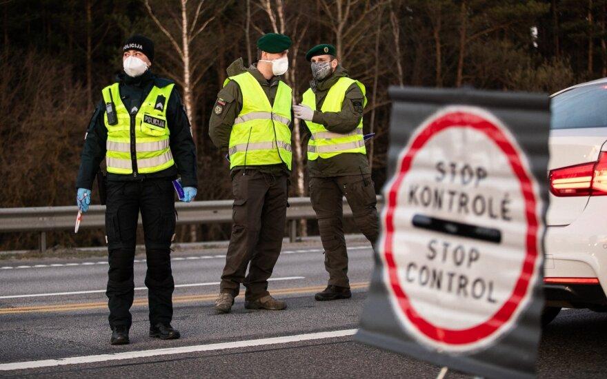 В понедельник вечером прекращает действовать запрет на движение между городами Литвы