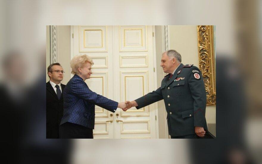 Dalia Grybauskaitė ir Vizgirdas Telyčėnas