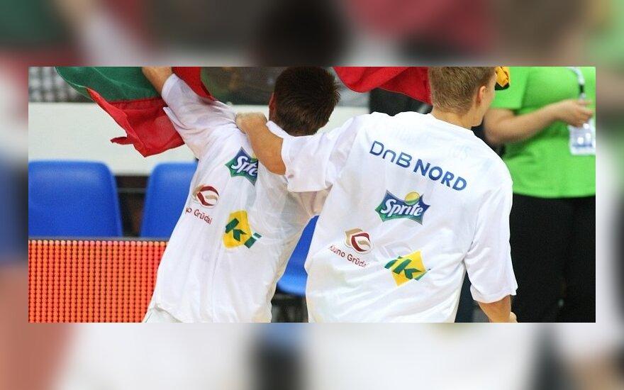 Lietuviai - Europos jaunių krepšinio čempionato nugalėtojai