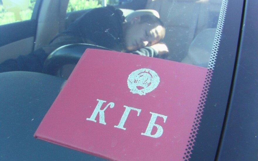 """В Клайпеде выходные начались с """"охоты"""" на пьяных водителей и Lexus со знаком КГБ"""