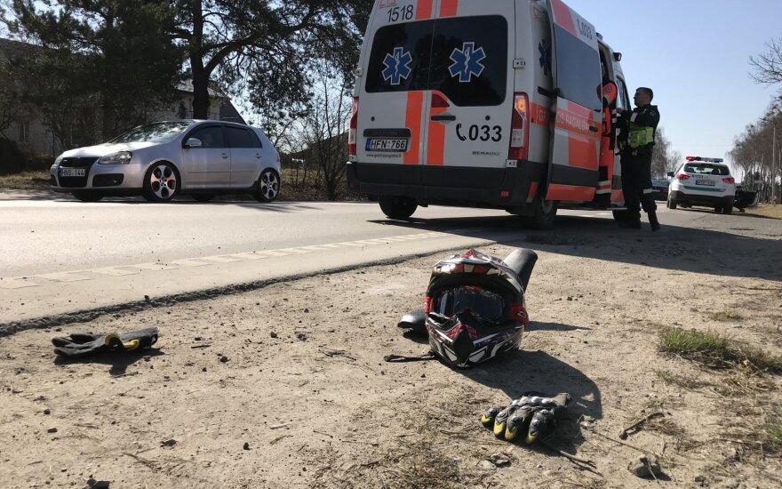 Сбивший трех велосипедистов мотоциклист был наказан за вождение в нетрезвом виде