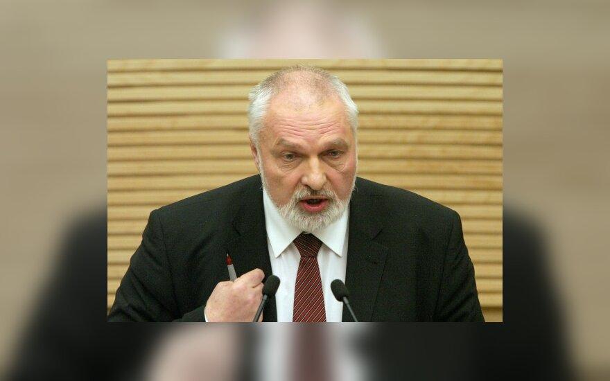 """Кандидат в президенты от """"ПС"""" – В.Мазуронис"""