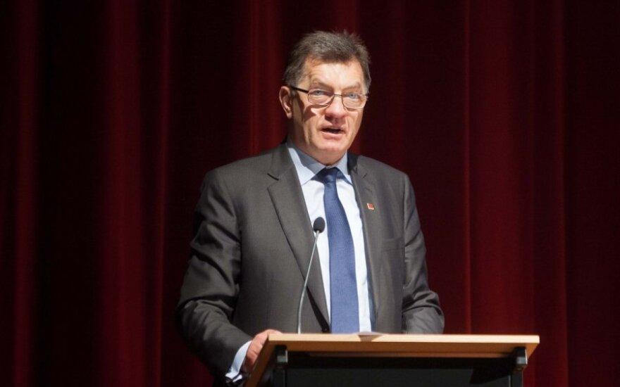 Премьер Литвы в Германии обсудит введение евро и энергетические реформы