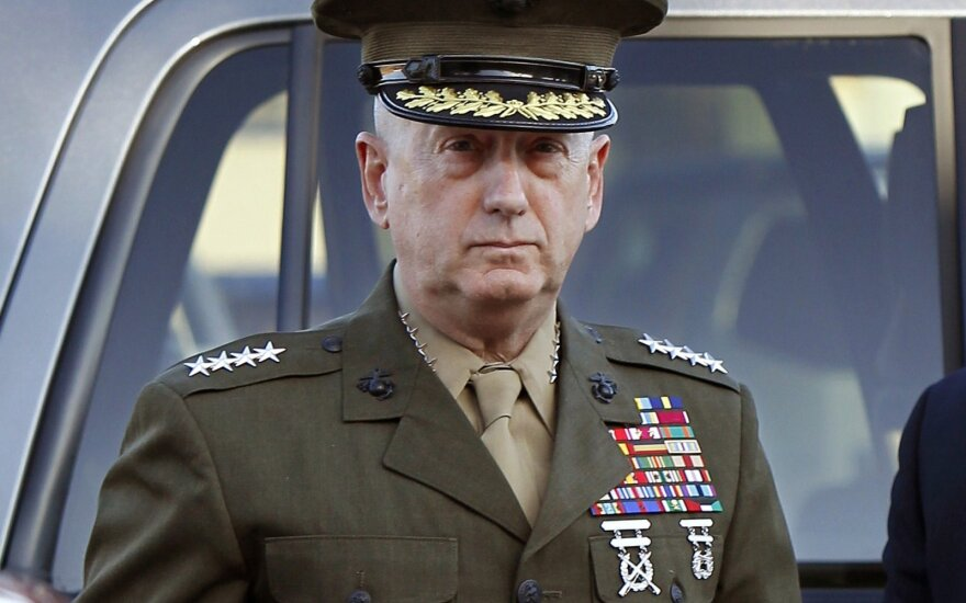 US Secretary of Defense James Mattis