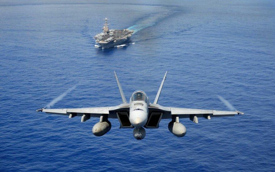 Грибаускайте: США могут разместить в Литве семь истребителей