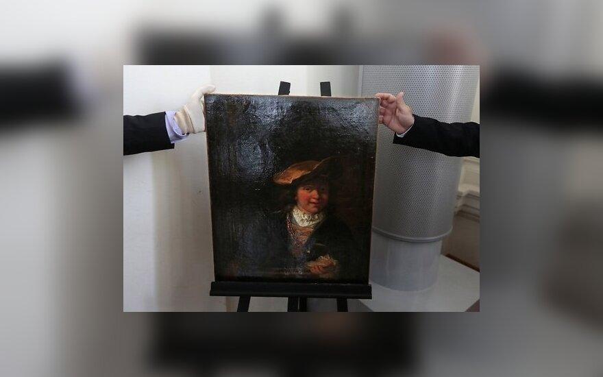 Найдена похищенная 15 лет назад картина Рембрандта