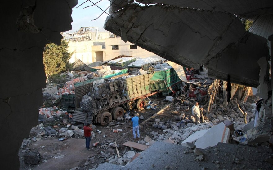 Расследование: гумколонну в Сирии, очевидно, разбомбила сирийская и российская авиация