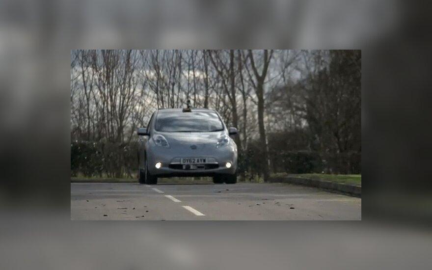 Британия начинает тестировать беспилотные автомобили