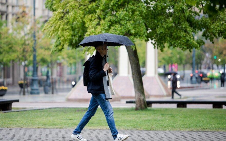 Погода: прогнозируют и солнце и дождь