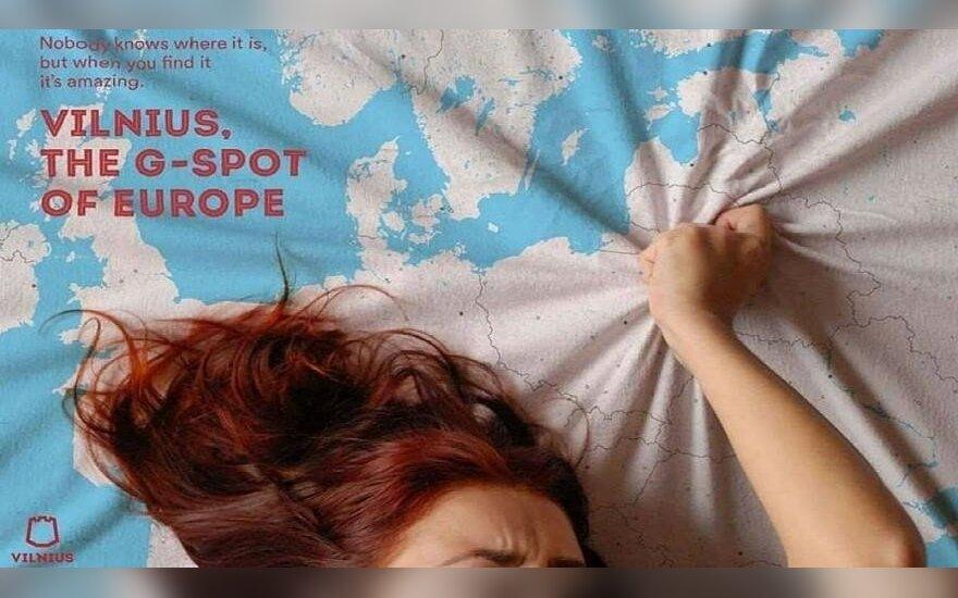 Вильнюс рекламируется как Европейская точка G