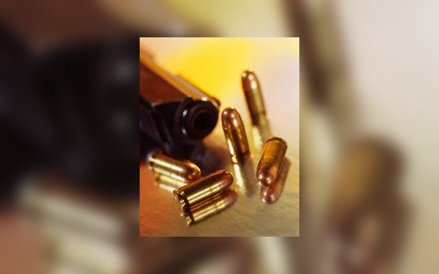 kulkos, šautuvas, pistoletas