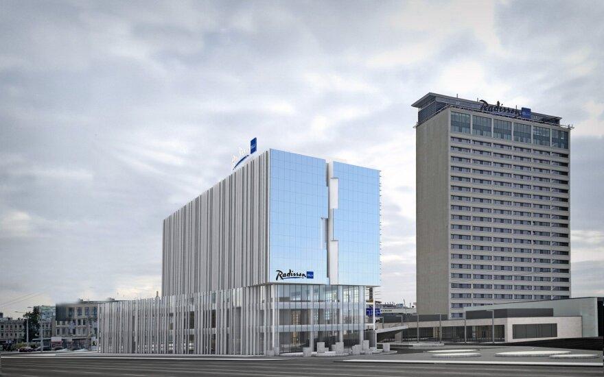 """Naujo viešbučio """"Radisson Blu Hotel Lietuva"""" pristatymas"""