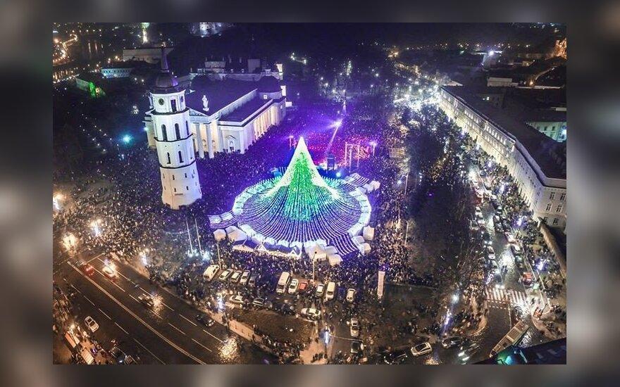 Фото вильнюсской елки покорило интернет