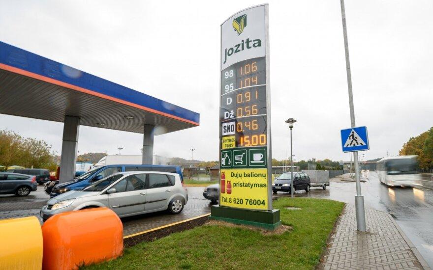 На АЗС Jozita в Литве продают самое дешевое топливо