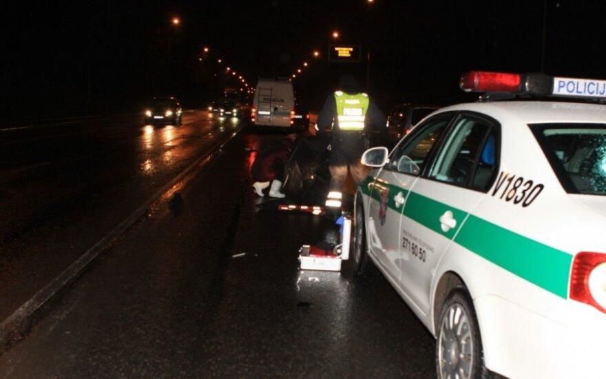 В Вильнюсе на Шешкинской горе тягач насмерть сбил пешехода