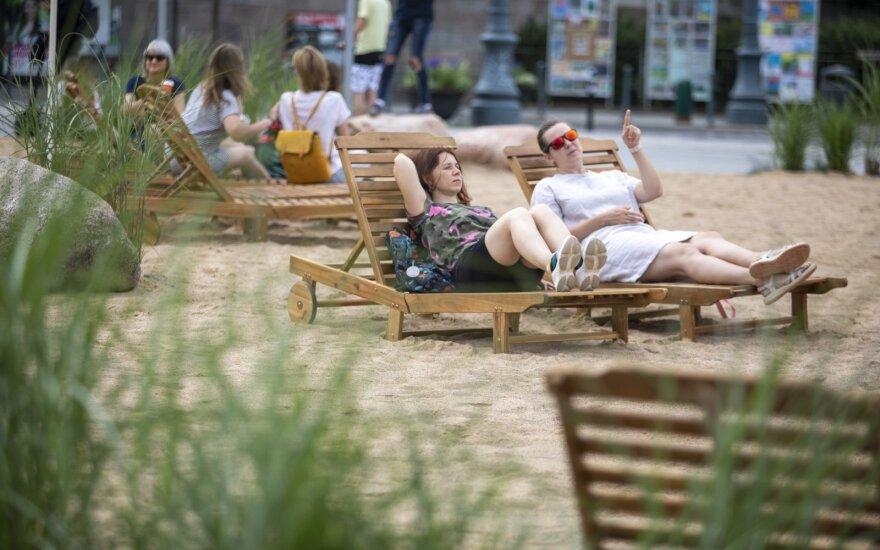 """В Вильнюсе пройдут """"американские"""" выходные, на пляже бесплатно покажут голливудские фильмы"""