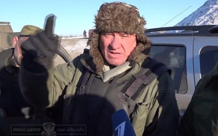 В Дебальцево заметили российского генерала - заместителя командующего Сухопутных войск