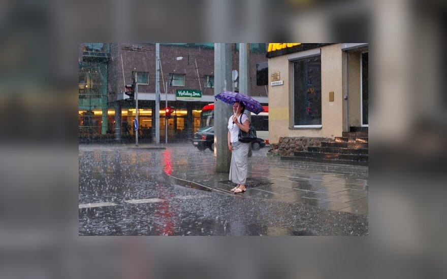 В выходные – дождь и прохлада