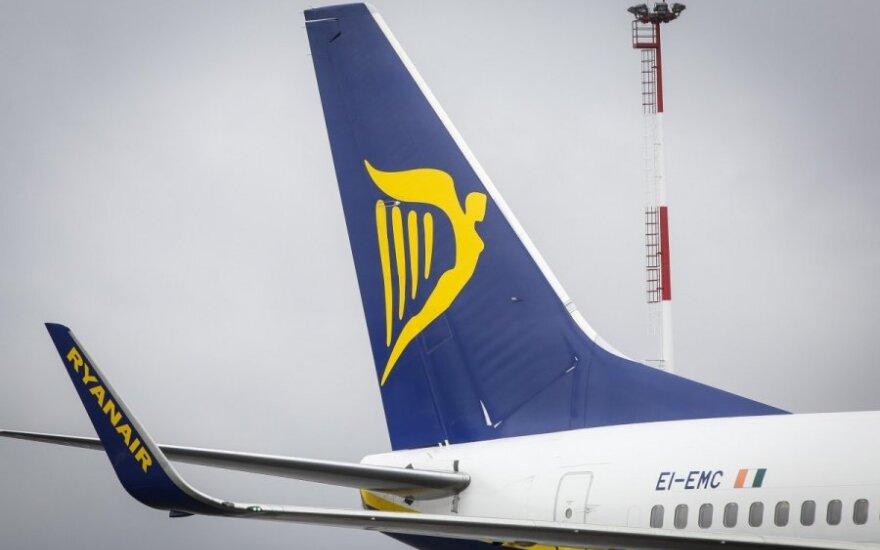 Ryanair представила новый маршрут из Каунаса