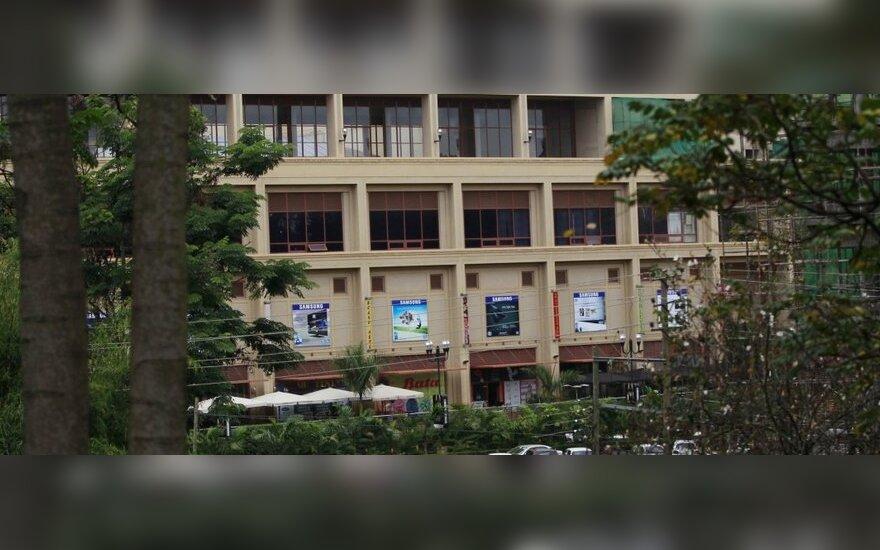 Nairobio prekybos centre įvyko žudynės