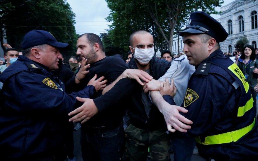 Protestas Tbilisyje