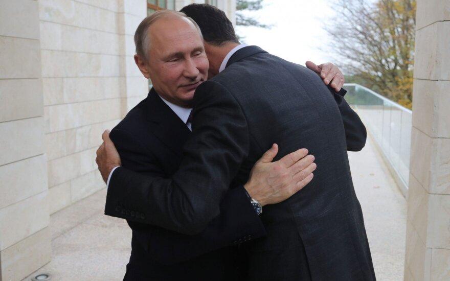 Имидж миротворца может стать темой предвыборной кампании Путина