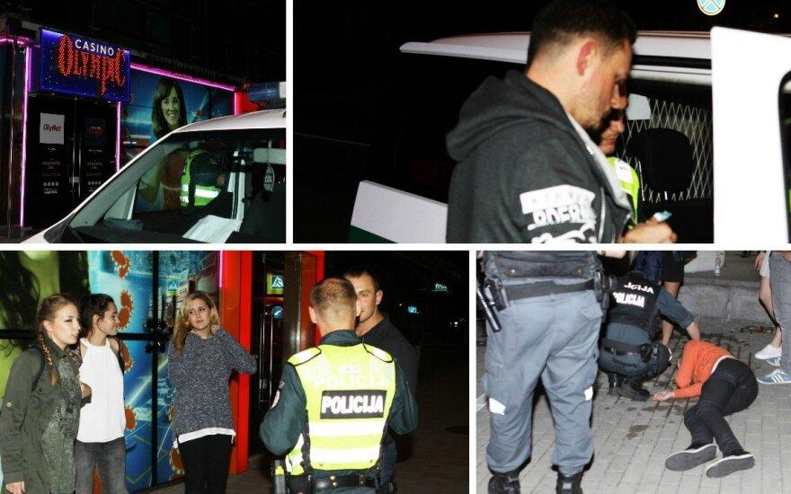 Ночью в Вильнюсе полиция усмиряла пьяного исполнителя и помогала американкам