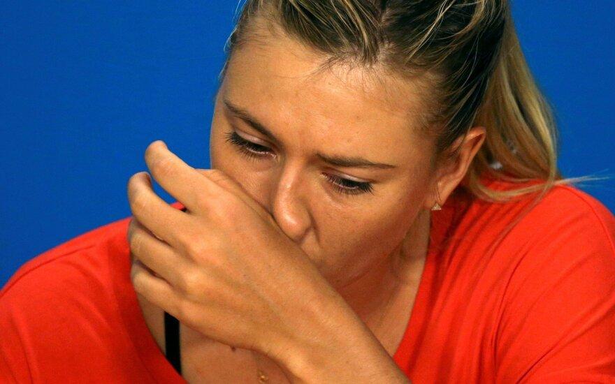 Теннисистку Марию Шарапову дисквалифицировали на два года