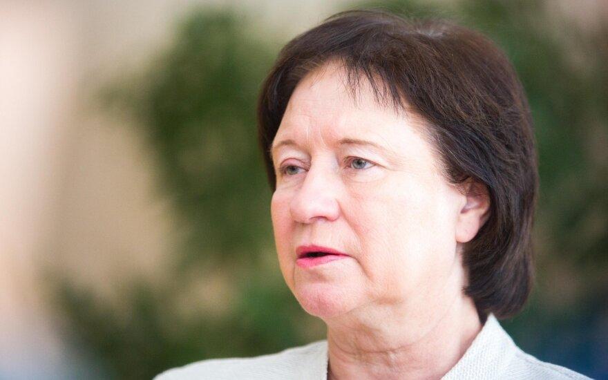 """Балтрайтене приносит извинения латвийскому министру за """"параноидальные страхи"""" в Литве"""