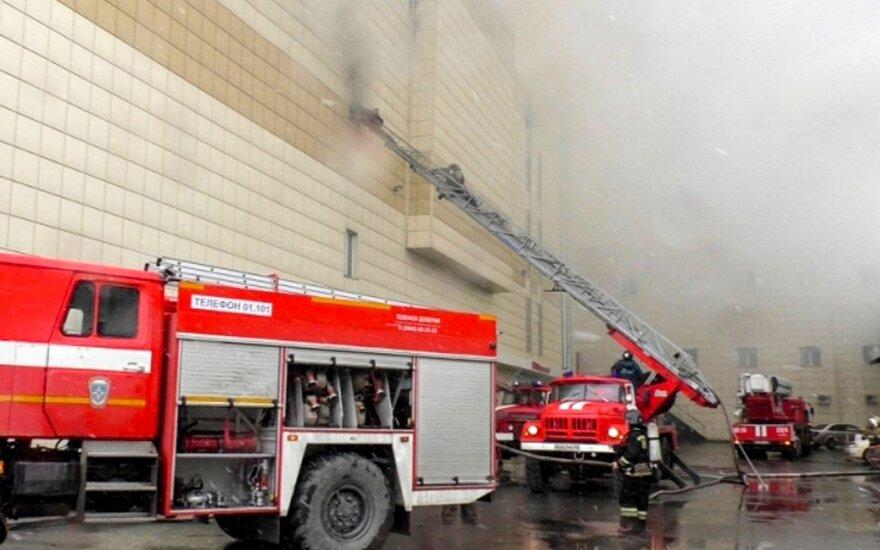 Президент Литвы выразила соболезнования в связи с пожаром в России