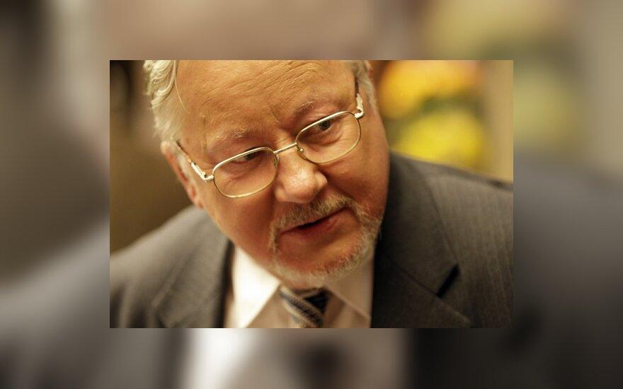 """Ландсбергис назвал ответ белорусских прокуроров """"некомпетентным"""""""