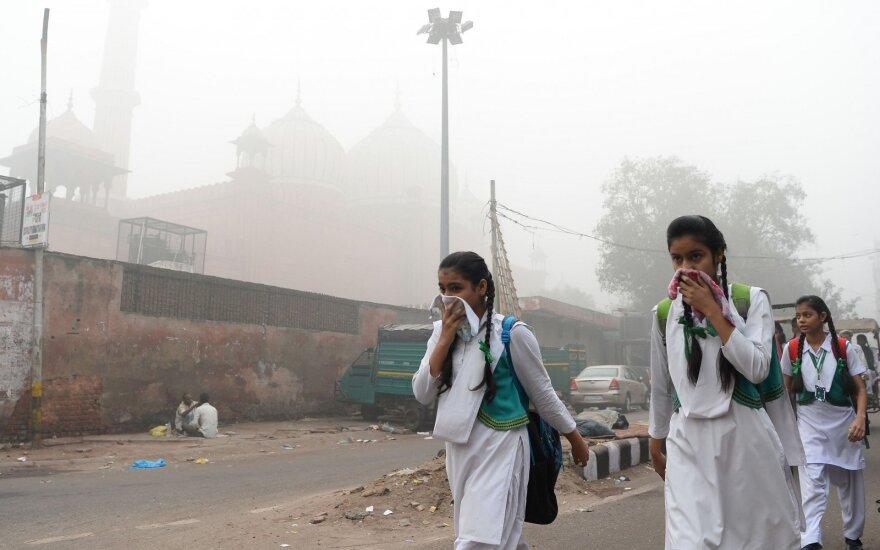 ЮНИСЕФ: загрязненный воздух вредит мозгу младенцев